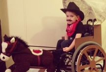 DIY Wheelchair dress-up