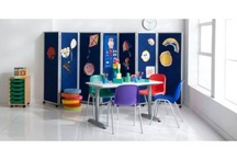 Dividing Large Classrooms / I've put together some of our most favourite products plus some pins that I think make excellent room dividers and great for greating private study and meeting ares