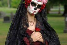 Körper/ Body: Verkleiden / Fasching / Halloween