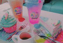 Sparkling cafes