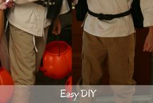 Halloween costumes / Easy DIY costumes you can make or just put together for kids. Halloween costume ideas. Book character costumes.