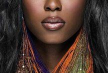 My black is beautiful  / Black hair & make up / by Latasha Morrison