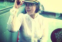 شيماء الشريف بملابس القبطان البحري = كابتن شيماء الشريف