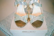 Wedding Shoes / Every girl loves her shoes.  From gorgeous designer high heels to cute ballet pumps, there are a huge selection of beautiful wedding shoes to choose from.
