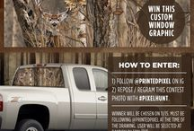 Printed Pixel - Contests / Various Facebook, Pinterest & Instagram contest we are running / have ran.