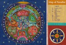 Seasons and Universe drawings and prints / Seasons and Universe drawings and prints