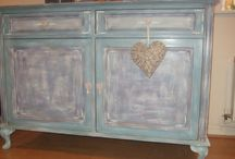 SHABY CHIC SIDEBOARD / SHABBY CHIC SIDEBOARD FOR SALE