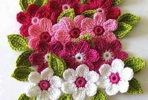 tiğ işi çiçekler