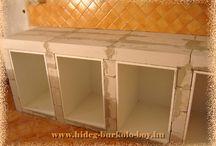 *épített konyha*