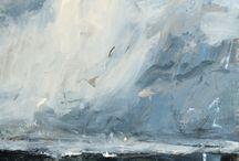 Art inspiration - clouds