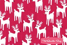 christmas fabric! / by Sally Metzger