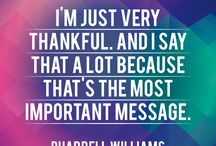 PHARRELL WILLIAMS QUOTES