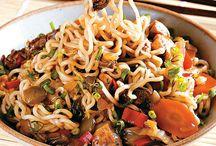 culinária chinesa e Japonesa