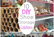 Shoes and bag storage