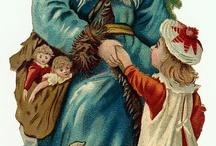Mikołajowie vintage