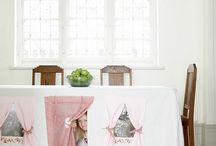 Tablecloth Fort  / Create new play areas in your home.