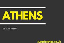 ATHENS / Fun tips, tricks and trips should you find yourself in the Greek capital of Athens. Would you like your next trip abroad to be a complete surprise? Find out more about our latest project at http://surprisetrips.co.uk/