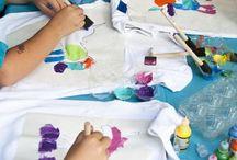 pintura de t shirts