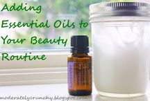 DIY face and body care -Essential oils