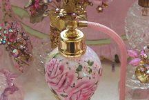 Parfum bottels