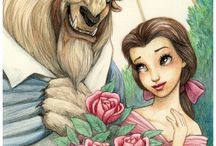 Beauty and the beast / belle and the beast