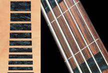 "Block / inlay sticker ""Block"" guitar/ukulele decals"
