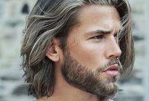 long hair for men