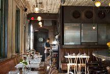 cafes/restaurants/shops
