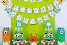 Monster birthday / by Stacey Adler