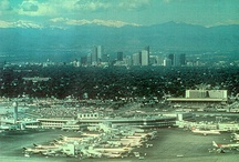 Old Photos of the Airport / by StapletonDenver  - a  community of neighborhoods in Stapleton, Denver