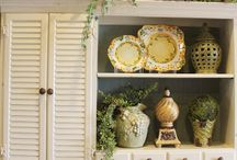 French country kitchen and dining areas / by Kristen Ayers