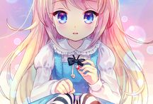 anime girl wallpapers♥