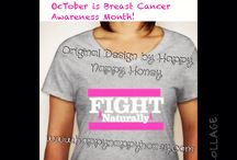 Breast Cancer Awareness T-Shirt / FIGHT Naturally