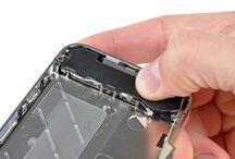 Sustitución del altavoz del iPhone 4 / Para sustituir el altavoz de iPhone 4, siga los pasos siguientes.
