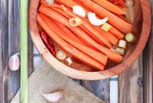 Spring Fermented Foods / Fermented foods and drinks to try this Spring. Using seasonal vegetables and fruit.