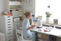 Work spaces & craft rooms