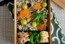 Japanese food in lunch box