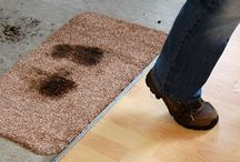 Dirt-Trapper Mats® / Genuine Dirt-Trapper Mats® manufactured by Kleen-Tex. #DirtTrapper
