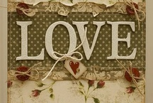 Love is in the air... / Examples of wedding, anniversary and valentine cards.  / by Connie Hewitt