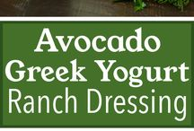 healthy dressing recipes / by Sarah Albaugh