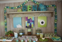 Monsters Inc Party! / by Tammy Hatfield