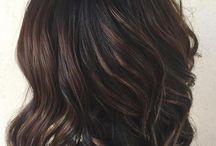 Čierne vlasy