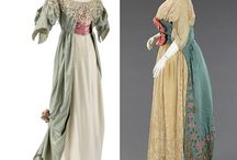 Dresses of early 20-th century