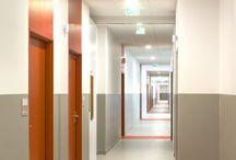 коридор отель
