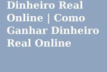 Dinheiro Real Online / Ganhar Dinheiro Real Online trabalhando com Sites que pagam para fazer pequenos trabalhos na internet. Ganhe um dinheiro extra apenas clicando links, vendo videos e lendo emails.