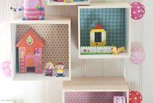 Dormitorio infantil / Ideas decoración dormitorio niñas