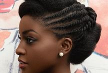 afro hairstyles for women