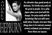 Audrey Hepburn Said It <3