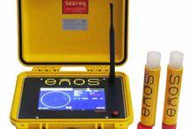ENOS / Das ENOS-System:ist ein elektronisches Notruf-und Ortungssystem für Taucher. Weltweit einmalig