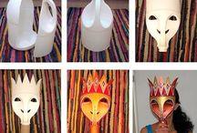 Mat. reciclado (máscaras)